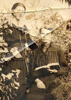 Marthe et sa mère, 1916